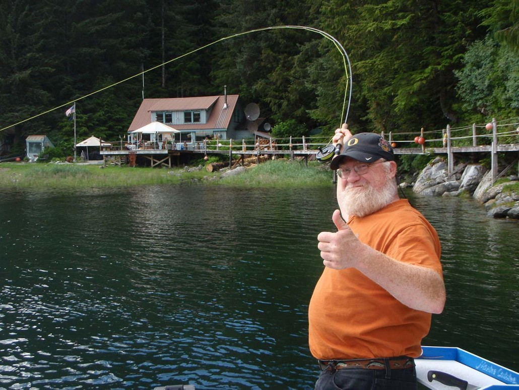 Baranof wilderness lodge alaska fishabout fishing for Alaska fly fishing goods
